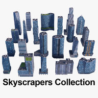 Skyscraper Buildings Collection