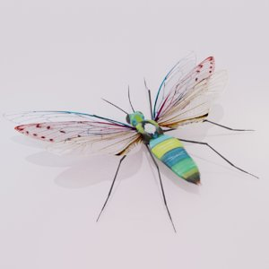 insect concept 3D model