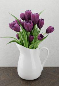 flower jar model