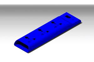 3D model extension board