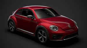 beetle r line 2020 3D model