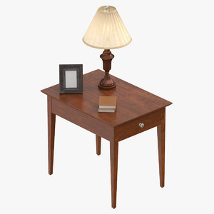 classical living room table design 3D model