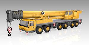 crane mobile gmk 3D model