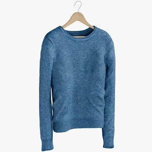 3D realistic women s pullover