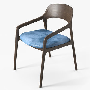 chair designed pbr 3D