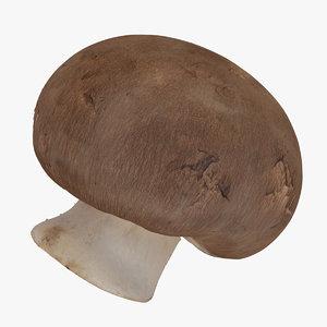 3D crimino mushroom 03 raw