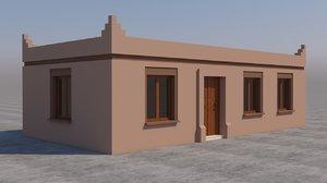 3D model moroccan house marrakech