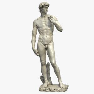 david statue 3D model