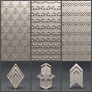 gypsum panels model