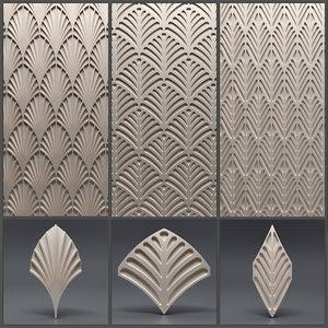 3D gypsum panels model