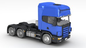 heavy truck vehicle 3D