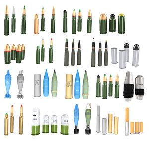 3D pack bullets