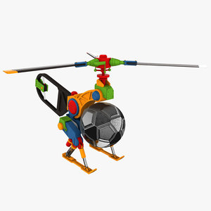 3D copter drone