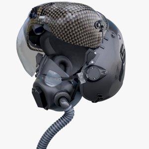 f-35 helmet 3D