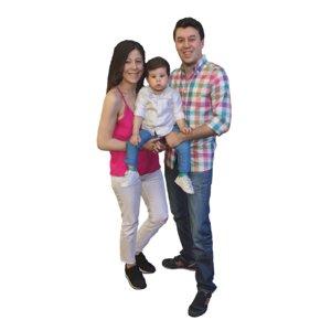 3D family kid model