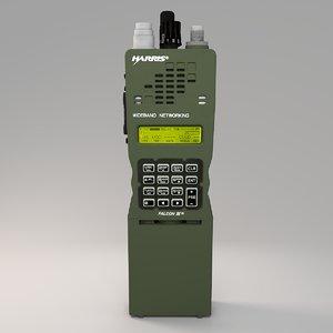 military handheld radio 3D