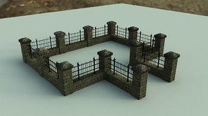fence games 3D model