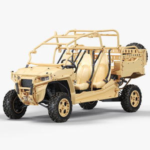3D polaris mrzr 4 model