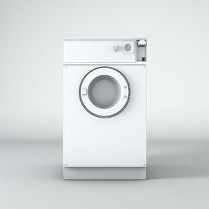 80 s washing 3D model