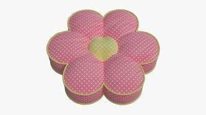 3D pillow 014 flower