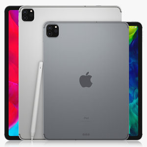 apple ipad pro 11 3D model