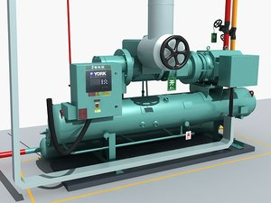 industrial equipment 2 3D model