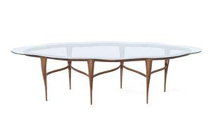 dining-table designer furniture 3D