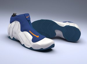 nike air flightposite 3D model