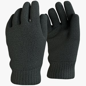 realistic gloves 2 model