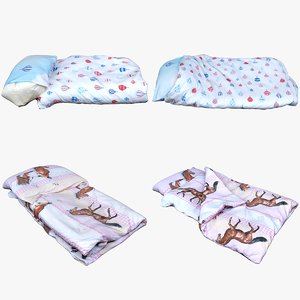 3D bedclothes bedding