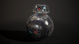 3D model bb-9e droid