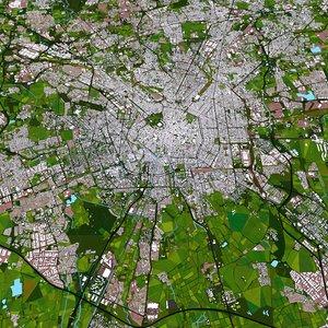 milan city buildings 3D