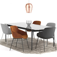 Boconcept - Vienna Chair + Augusta Table