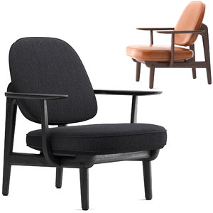 3D fritzhansen fred lounge model