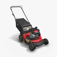 Lawn Mower With Bagger
