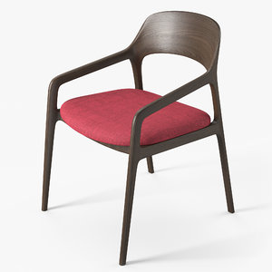 chair designed pbr 3D model