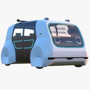 sedric bus 3D model