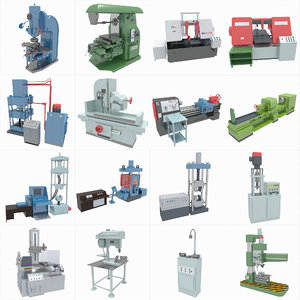 3D machine tools