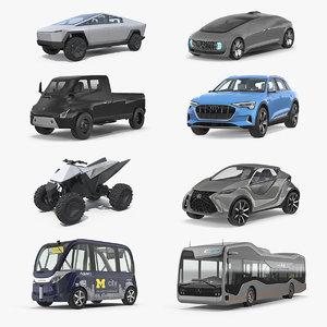 3D concept cars 3