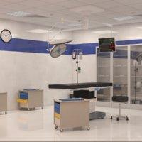 Surgery Room Interior Scene