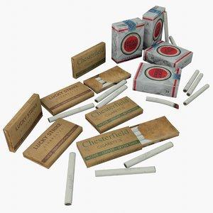 3D asset cigarettes