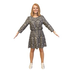 lady t pose 3D model
