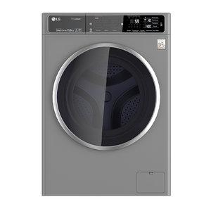 wash machine lg 3D model