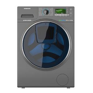 wash machine samsung 3D
