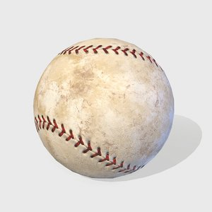 baseball base 3D model