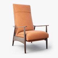 Milo Baughman - RECLINER Armchair