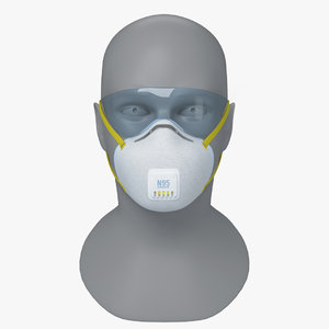 3D n95 respirators masks face