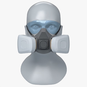 half reusable respirator double model