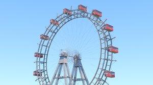 3D prater ferris wheel vienna