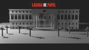 3D la casa di carta